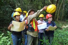 Umweltbildung für Groß und Klein: Bei der Eröffnung unseres Naturlehrpfades in Las Lajas