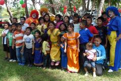 Gutes Leben für alle: Bei der Familien-Weihnachtsfeier in Panama