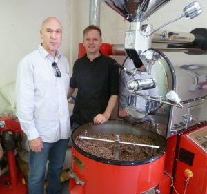 Harry Assenmacher und Heinrich Kotze von CocoáFair