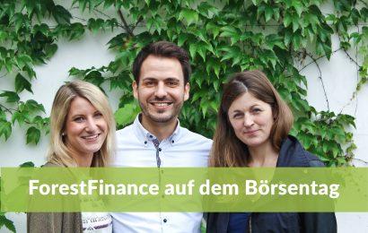 Das ForestFinance-Team auf dem Börsentag in Dresden