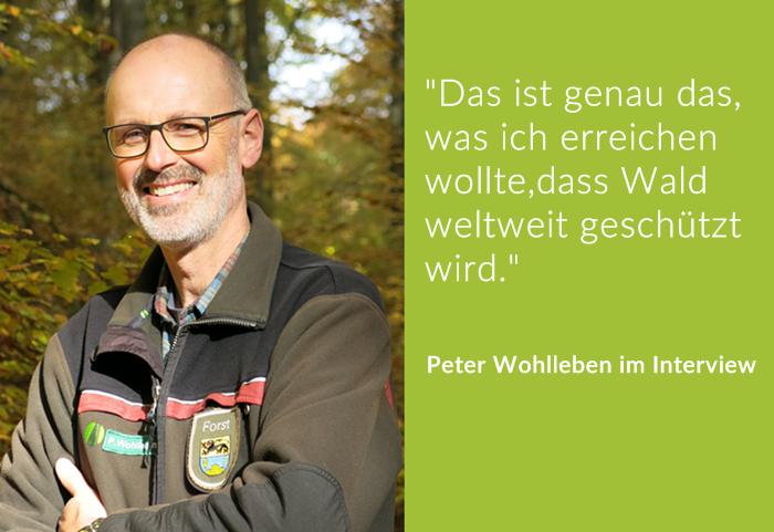 Von der Insel zum Kontinent – wie Peter Wohlleben mit seiner neuen Waldakademie weltweit Wälder schützen will