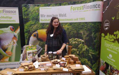 Fleischlos glücklich –  ForestFinance auf der VeggieWorld