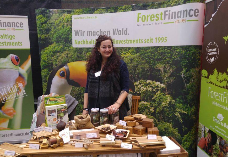 """Besuchen Sie ForestFinance auf der Messe """"Grünes Geld"""" in Freiburg"""