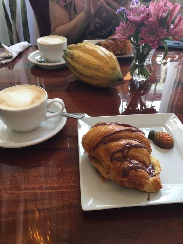 Süßer Abschied im OroMoreno-Café. Foto: Katrin Spanke/ForestFinance