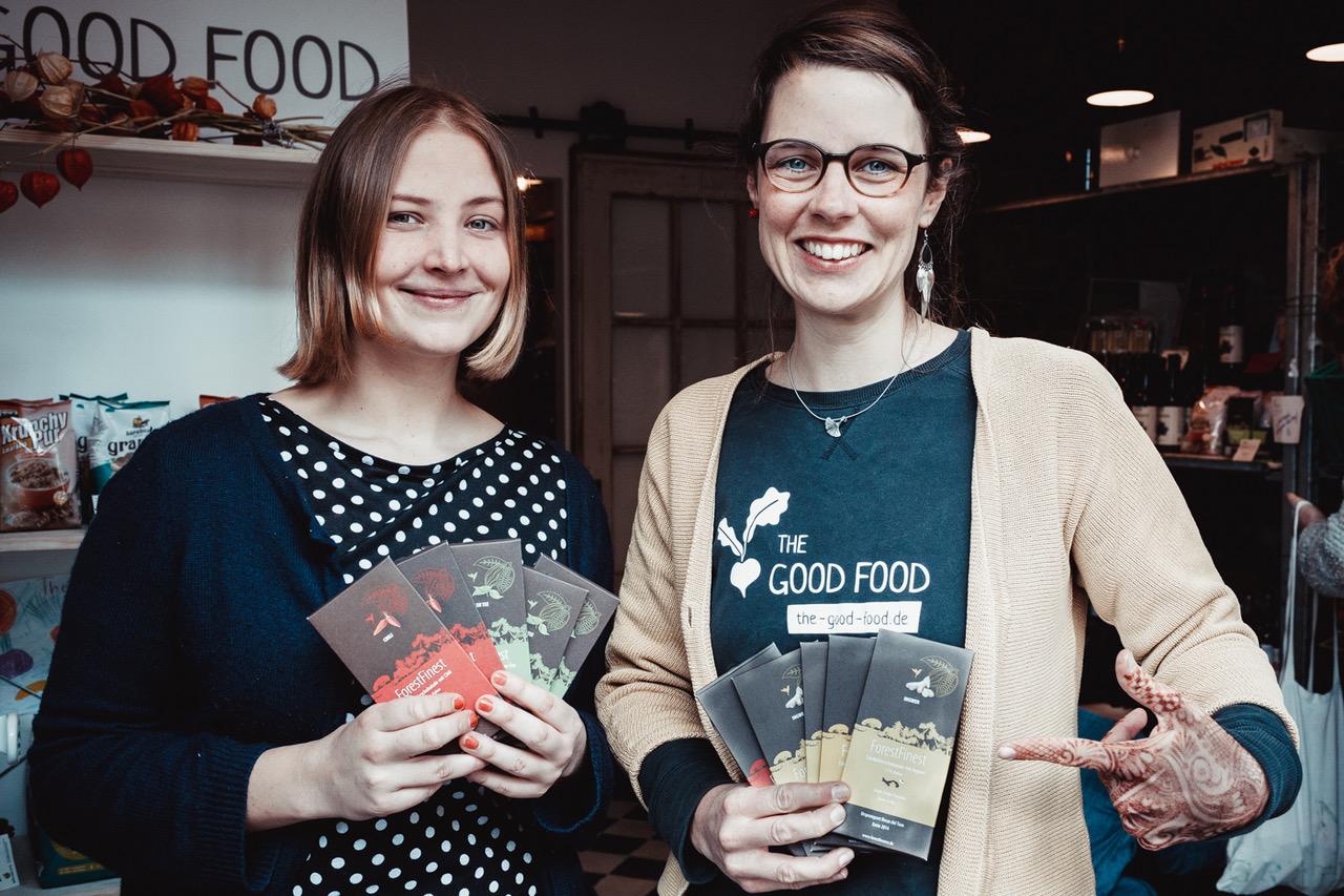 """Janina Mai von ForestFinance und """"THE GOOD FOOD""""-Gründerin Nicole Klaski"""