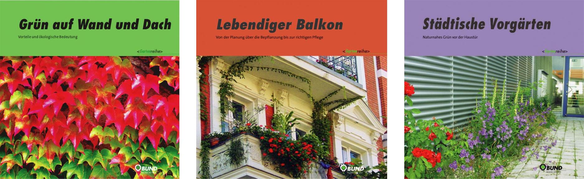 Die nützlichen Broschüren für Stadtgärtner sind im BUNDladen zum Preis von 2,20 Euro pro Stück erhältlich. Foto: BUND