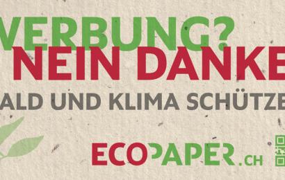 Schützenhilfe für Ecopaper – Unterstützung eines Crowdfunding-Projekts für den Klimaschutz
