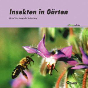 Insekten in Gärten. Foto: BUND