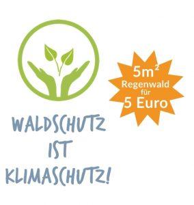 Regenwald verschenken ab 5 Euro