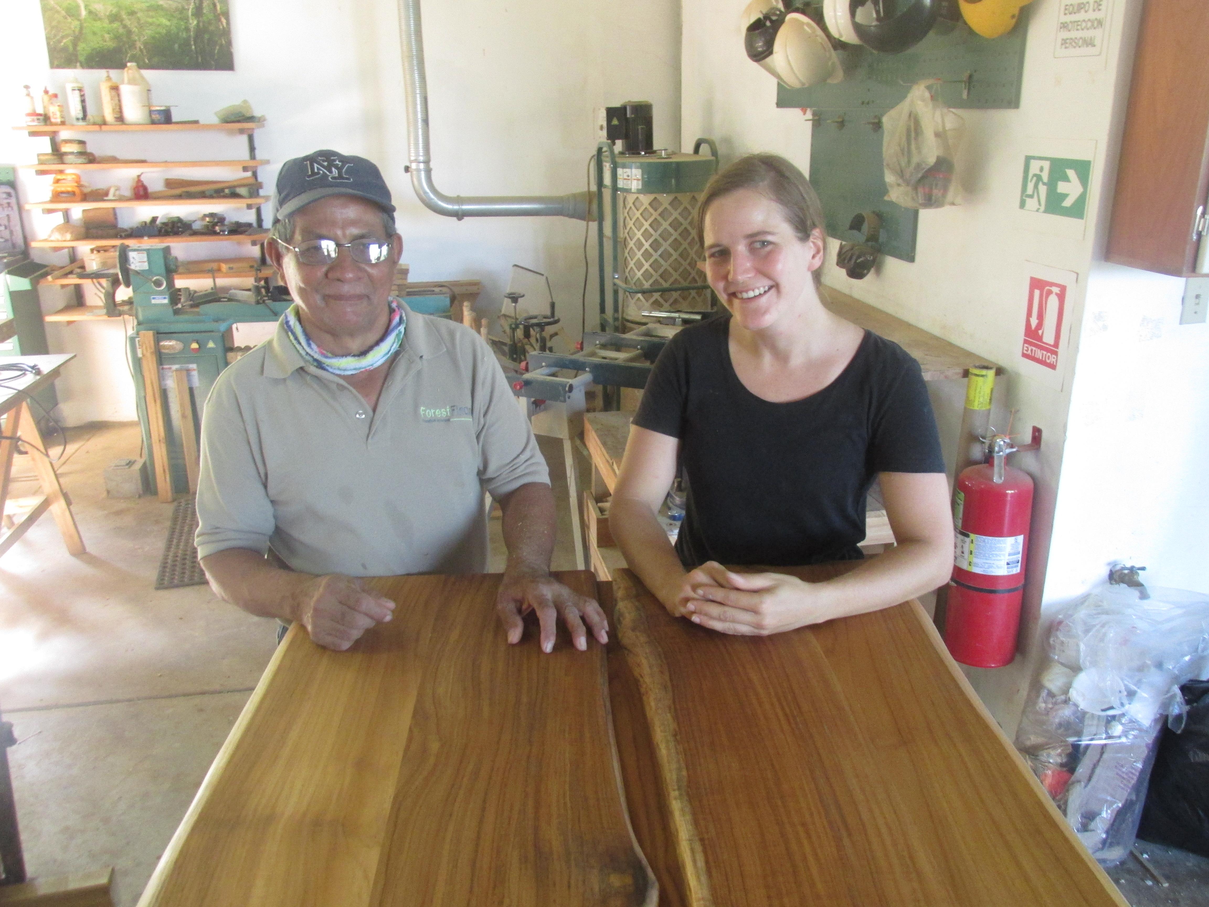 Sylvia Ziegler und Gerardino Jaramillo Carrera haben gleichermaßen von der Zusammenarbeit profitiert. Foto: ForestFinance