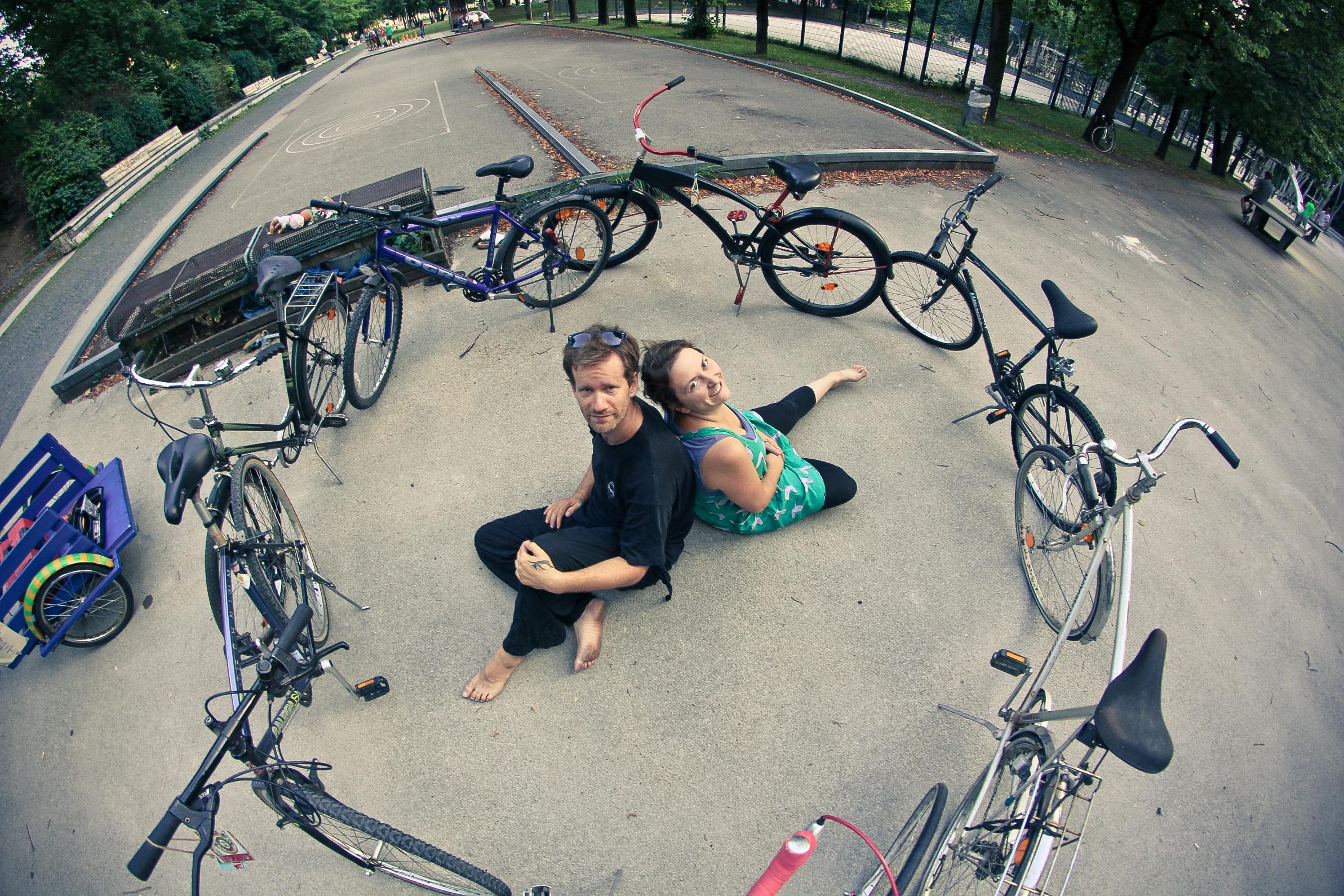 Haben noch viel vor: Horand und Heidi. Foto: Radlretterei