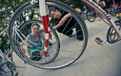 Die Radlretterei: ein zweites Leben für abgelegte Fahrräder