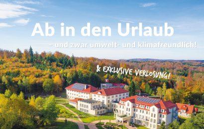 Ab in den Urlaub – und zwar umwelt- und klimafreundlich mit den Klima-Hotels