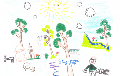 Salvatore, acht Jahre: Mein schönstes Geschenk zur Kommunion war ein GeschenkBaum!
