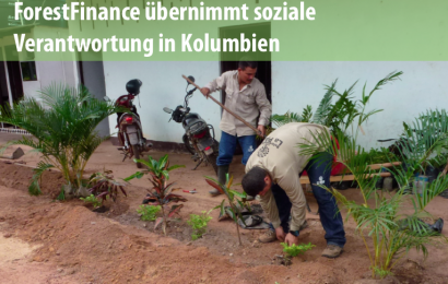 Social-Impact-Analyse auf ForestFinance-Finca in Kolumbien