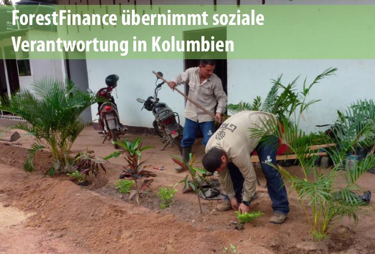 Social-Impact-Analyse auf ForestFinance-Finca in Kolumbien