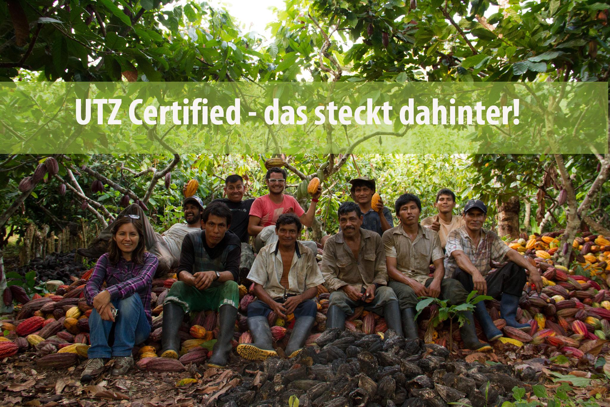 Wir sind unsere Mitarbeiter! Hier ein Teil unseres Kakao-Teams in Peru. Foto: ForestFinance