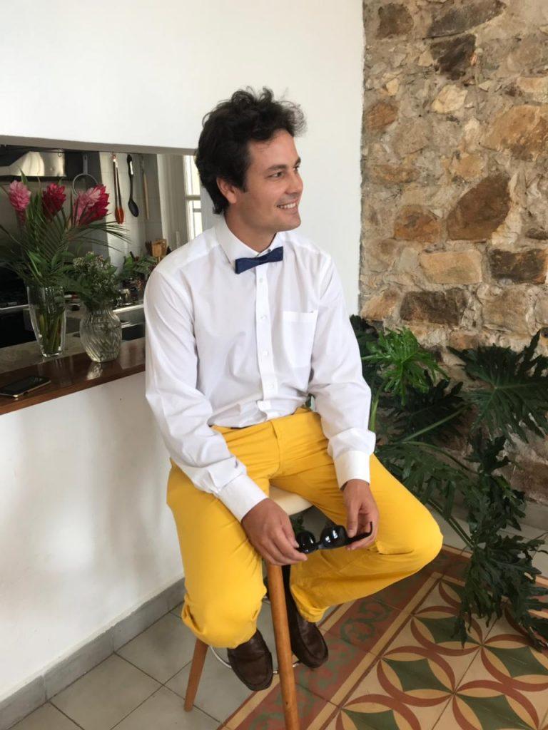 Carolina Buglione hat den Wettbewerb auf eigene Weise interpretiert und die schmucken Hosen ihres Mannes Bruno fotografisch festgehalten.