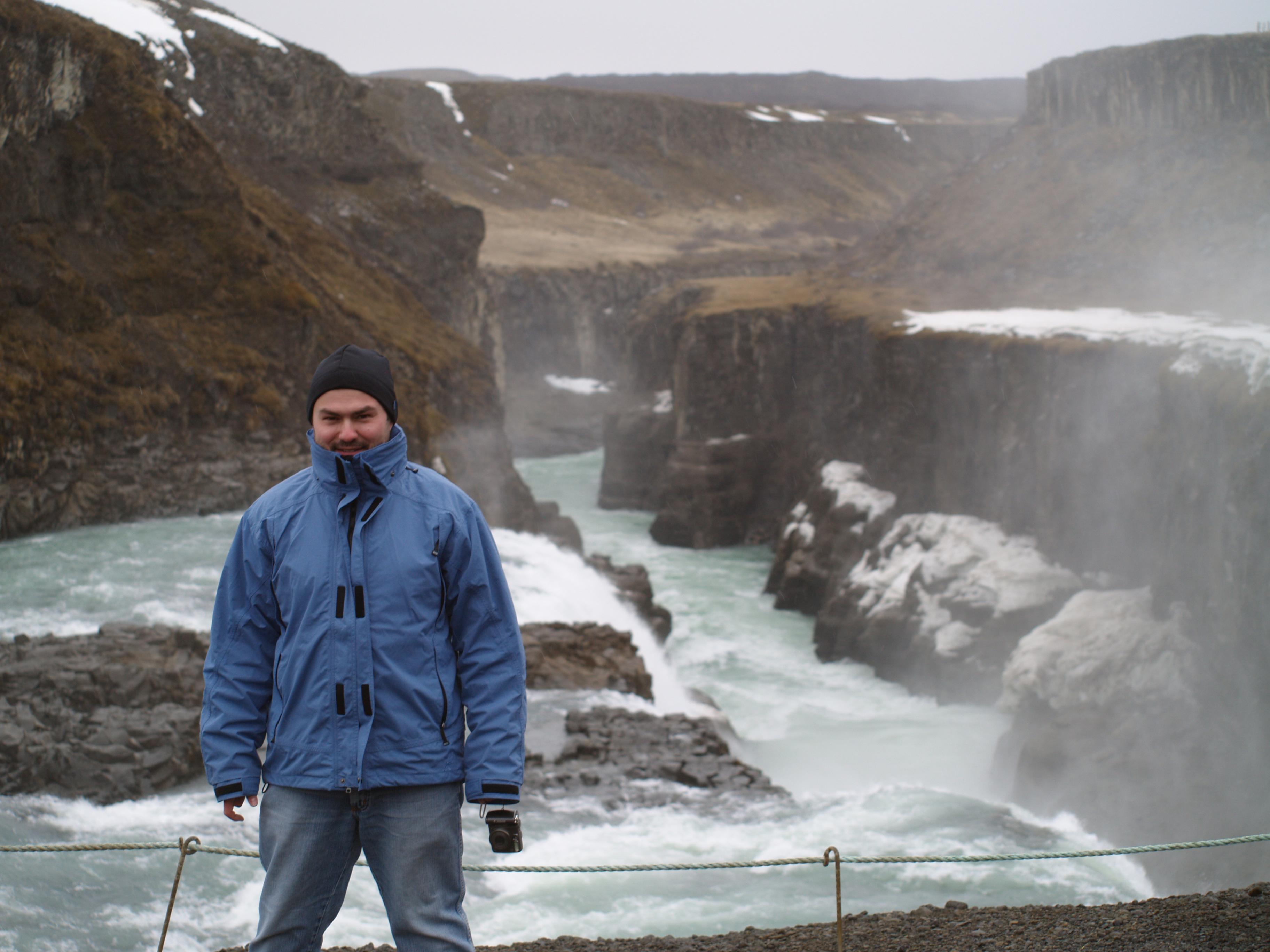 """Ebenso wie Komissar Kelchbrunner, den Protagonisten des neuen Romanes """"Unser aller Erbe"""", führte es Torsten Jäger nach Island. Foto: privat"""