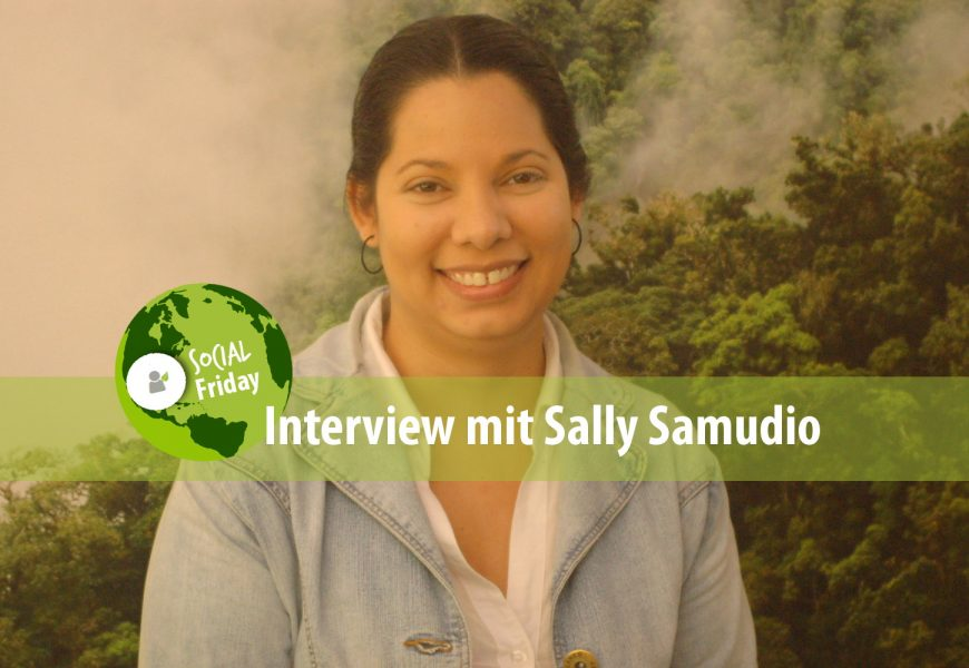 SocialFriday: Interview mit Sally Samudio