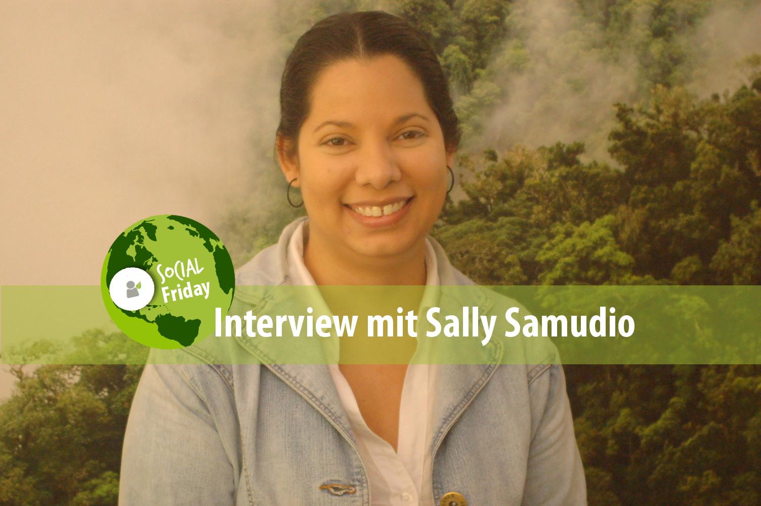 Unsere Mitarbeiterin Sally Samudio. Foto: ForestFinance