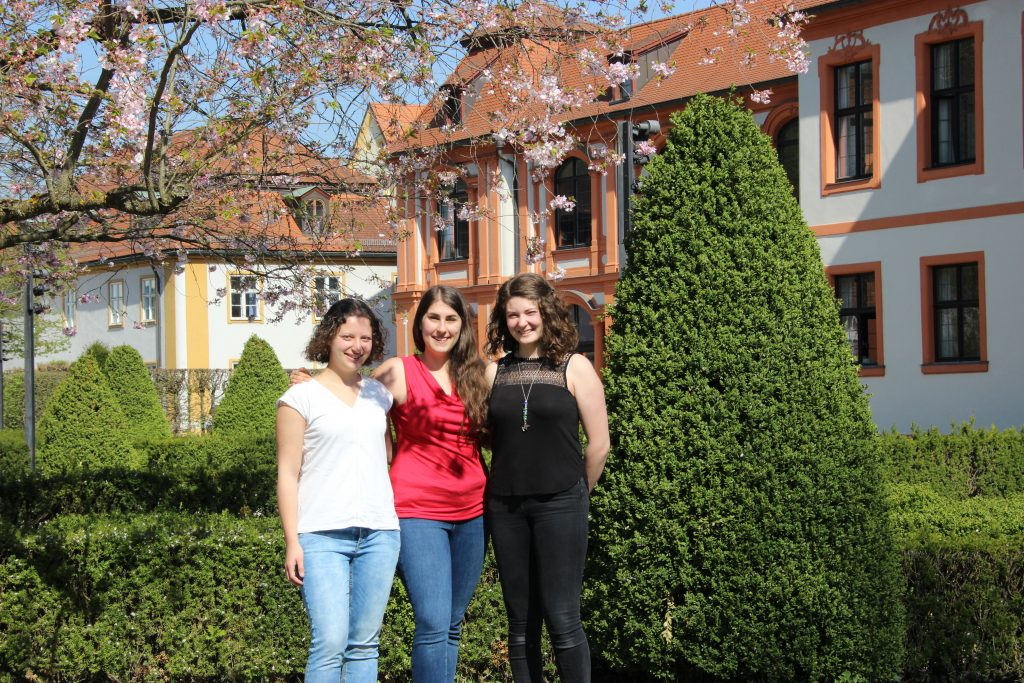 "Julia, Inken und Theresa sind Studentinnen im Studiengang ""InterculturAd-Werbung interkulturell"""