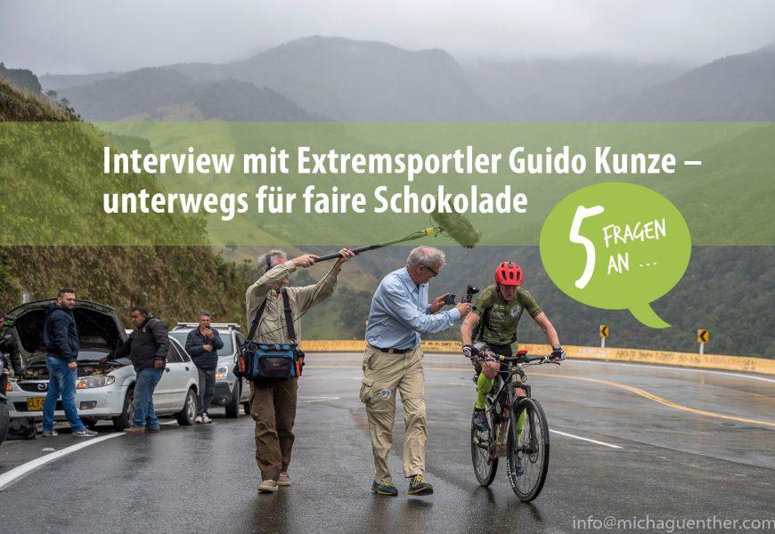 5 Fragen an: Extremsportler Guido Kunze – unterwegs für faire Schokolade