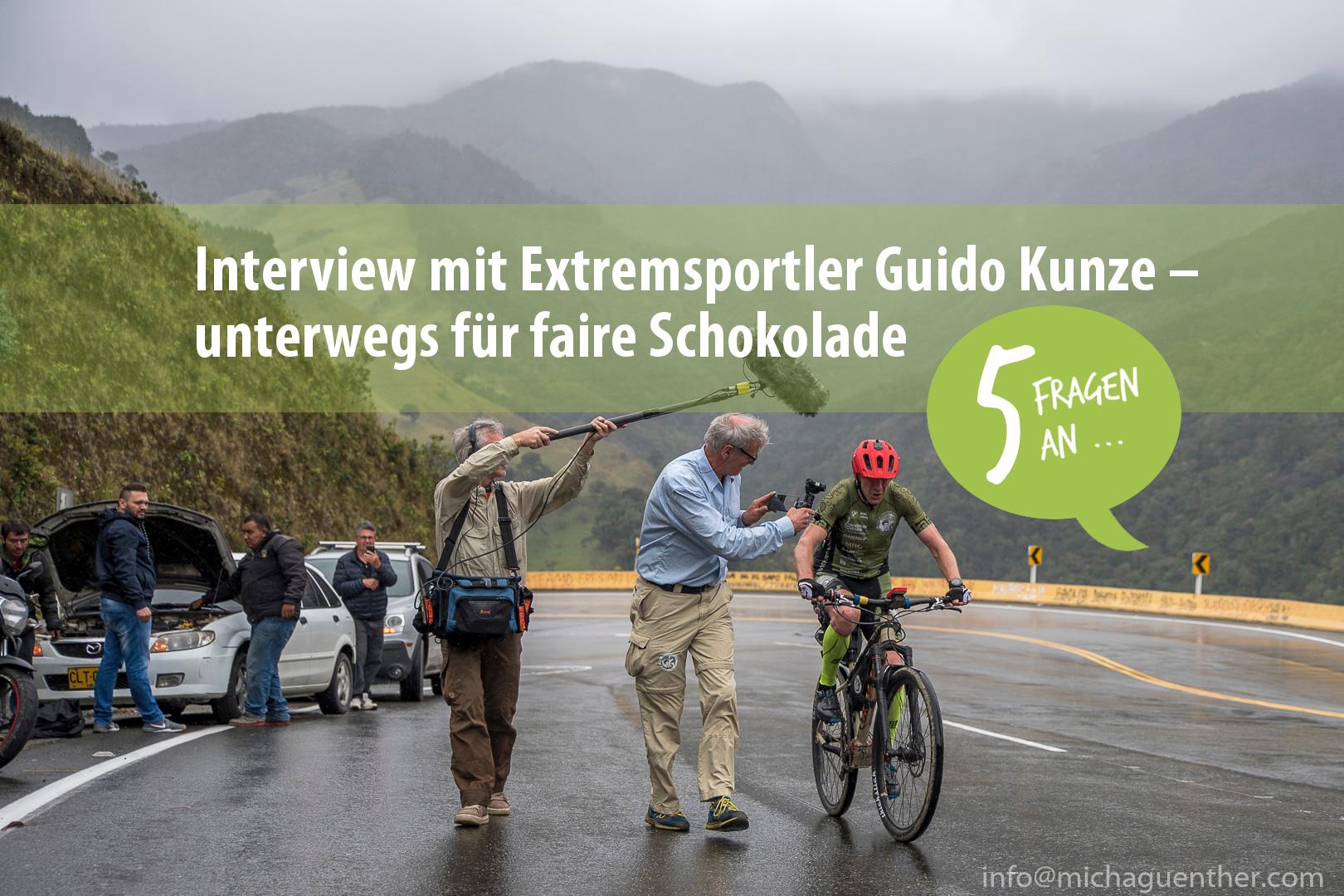 Für faire Schokolade: Über Guido Kunzes Reise wurde ein Lehrfilm zu Nachhaltigkeit und fairem Handel gedreht. Foto: Michael Günther