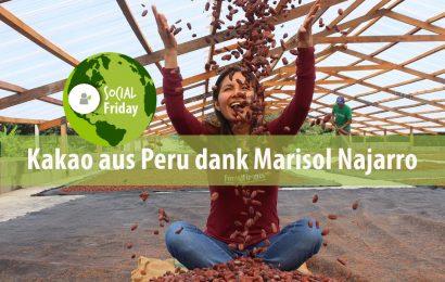 SocialFriday: Kakao aus Peru dank Marisol Najarro
