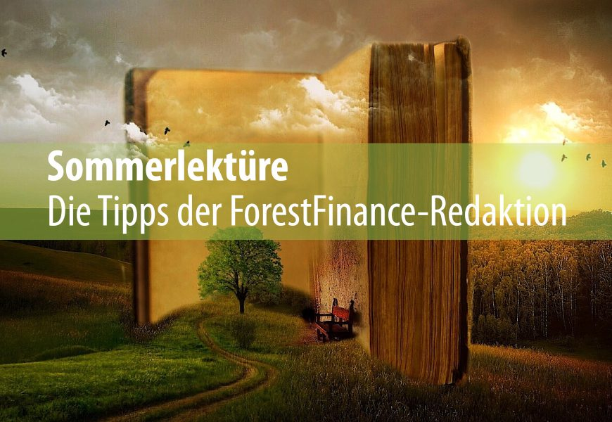 Sommerlektüre – die Tipps der ForestFinance-Redaktion