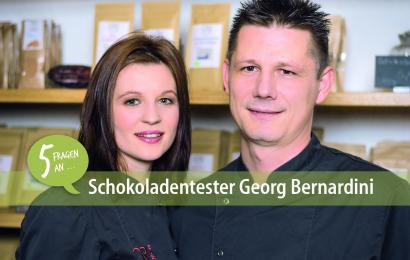 5 Fragen an Schokoladentester Georg Bernardini