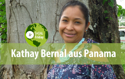 SocialFriday: Kathay Bernal aus der Buchhaltung in Panama