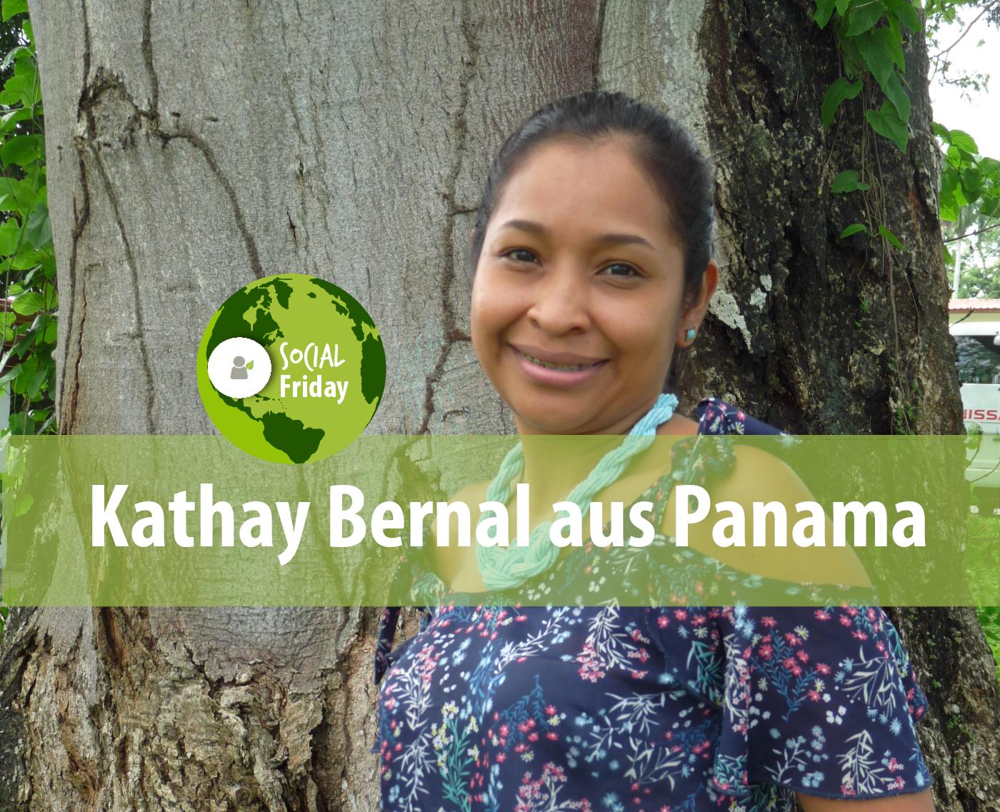 Kathay Bernal unterstützt die Buchhaltung in Panama. Foto: privat