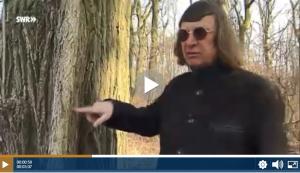 Die Sendung planet wissen hat Prof. Claus Mattheck vorgestellt und ihn in den Wald begleitet. Das Video können Sie online aufrufen. Screenshot: planet-wissen.de