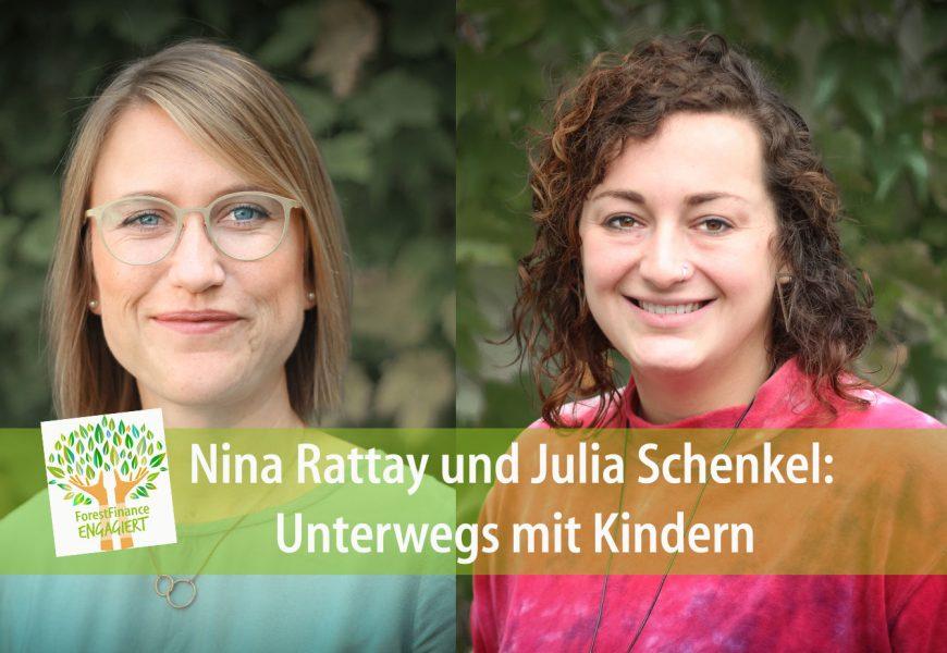 Nina Rattay und Julia Schenkel: Unterwegs mit Kindern