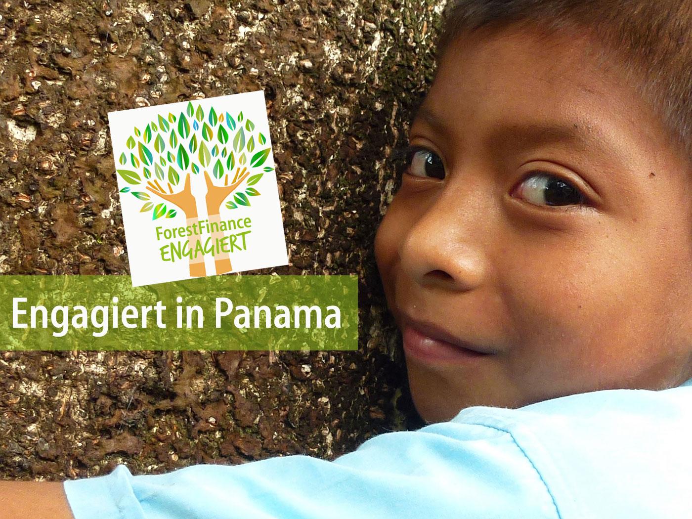 Jorge Luis Santos, Sohn unseres Mitarbeiters Nicolas Santos, auf der Baumschule in Santa Cruz. Foto: ForestFinance