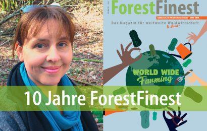 10 Jahre ForestFinest – Interview mit Redakteurin Christine Sommer-Guist