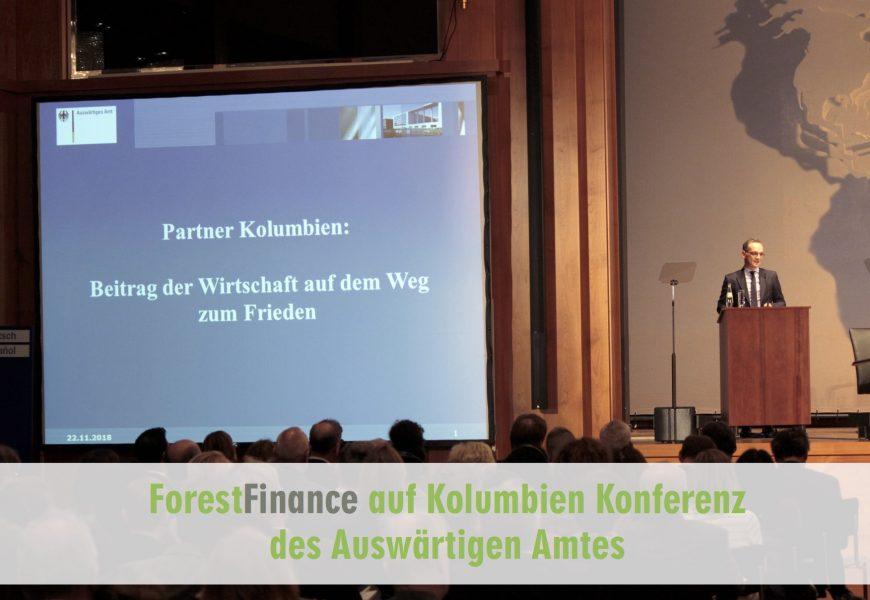 Gefragte Expertise: ForestFinance diskutiert im Auswärtigen Amt über Kolumbiens Zukunft