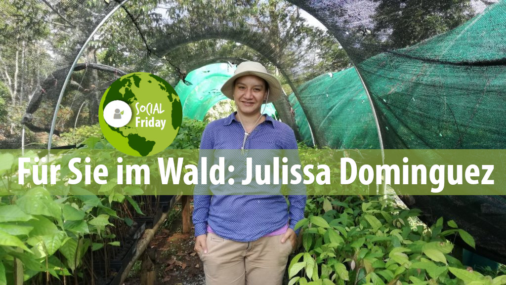 Unsere Försterin in Panama: Julissa Dominguez. Foto: ForestFinance