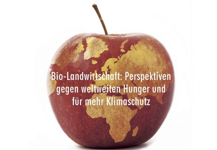 Bio-Landwirtschaft: Gegen Hunger und für's Klima