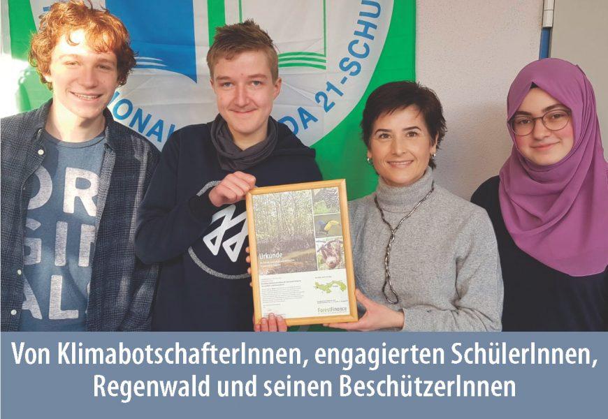 Unser SchutzWald in Bayern: SchülerInnen aus Kempten schützen Regenwald und Klima in Panama