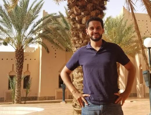 Anas BaChar ist Geschäftsführer des ForestFinance-Unternehmens DesertTimber SAS und leitet das Oase-1-Projekt in Marokko.
