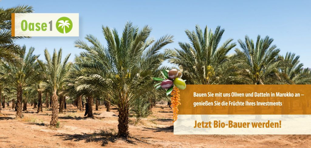 Bio-Bauer mit Oase-1 werden
