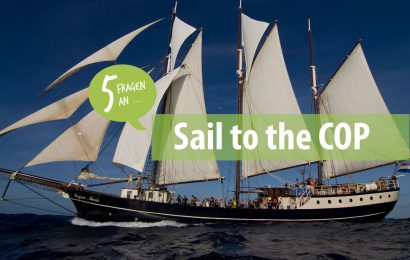 5 Fragen an: Sail to the COP