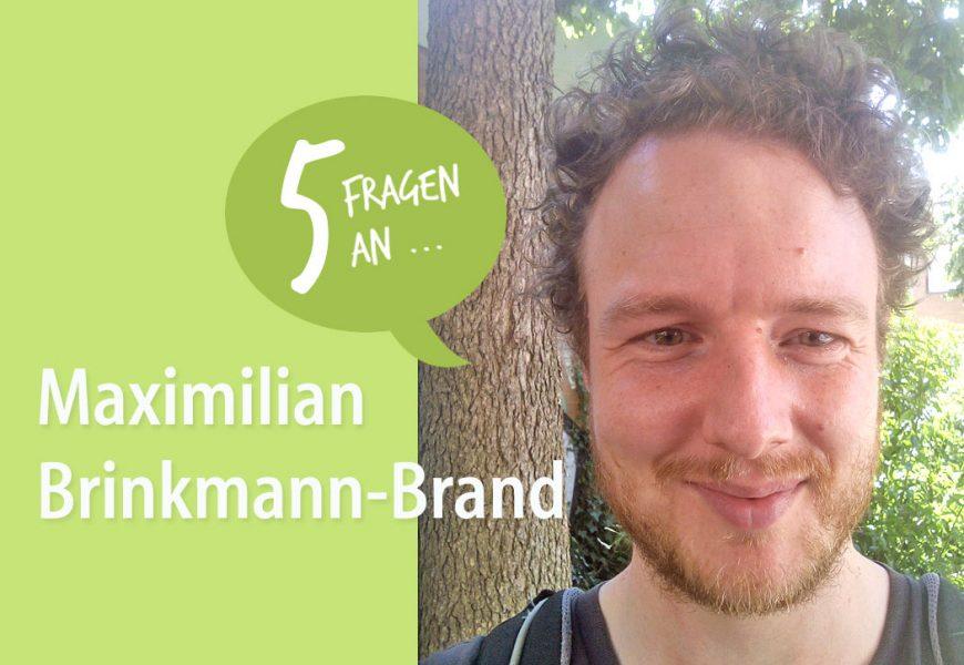 5 Fragen an ForestFinance-Kunden Maximilian Brinkmann-Brand