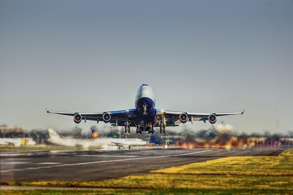 Flugreisen sind klimaschädlich.