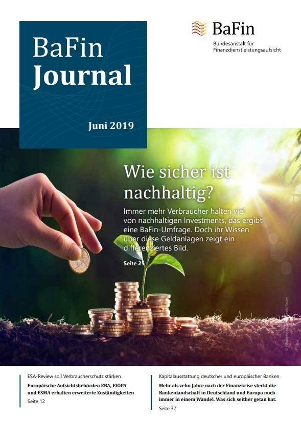 BaFin Umfrage nachhaltige Investments