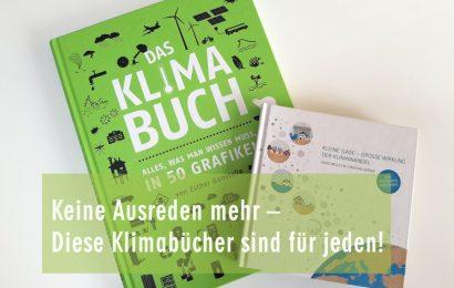 Keine Ausreden mehr – diese Klimabücher sind für jeden!