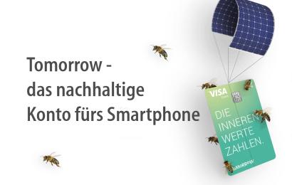 Tomorrow – das nachhaltige Konto fürs Smartphone