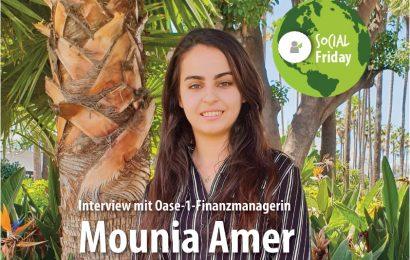 Mounia Amer – Finanzmanagerin des Oase-1-Projekts in Marokko